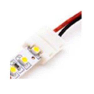 Đầu nối cuối có dây cho led dây đơn sắc (8mm), 2 Pins