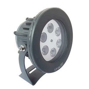 Đèn chiếu điểm 6w mẫu B Kèm AC
