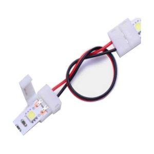 Đầu nối có dây cho led dây đơn sắc (10mm),2 Pins